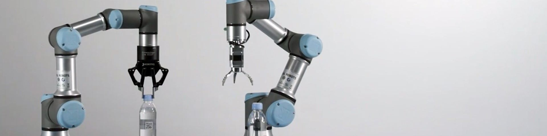 A Universal Robots cobot in action